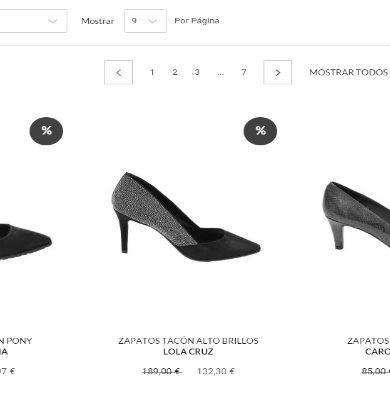 zapatos de tacon online